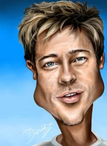 Brad Pitt - DarDesign, DeviantArt.com